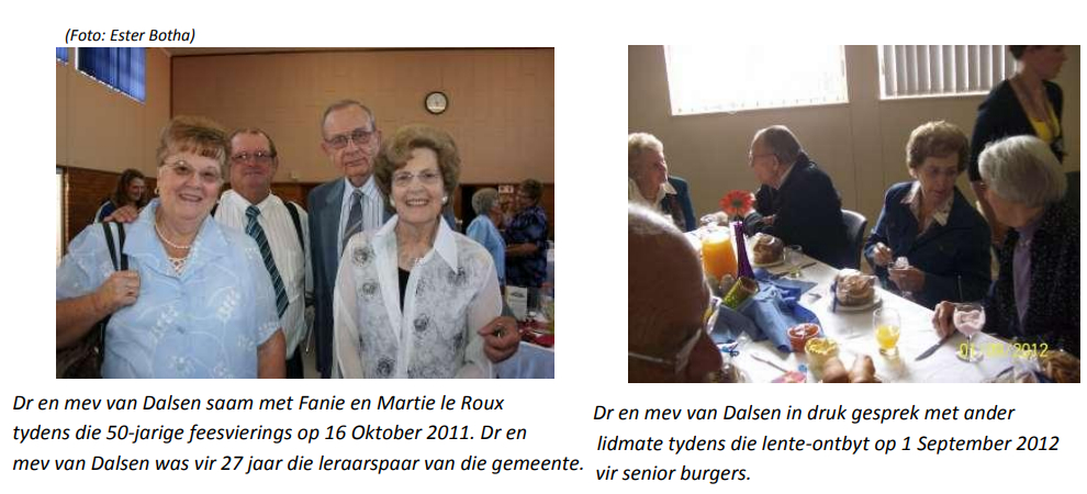 Dr van Dalsen